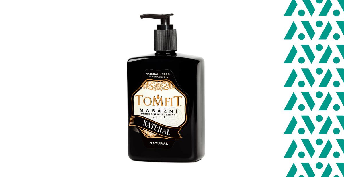 Tomfit TomfitNatural masszázsolaj