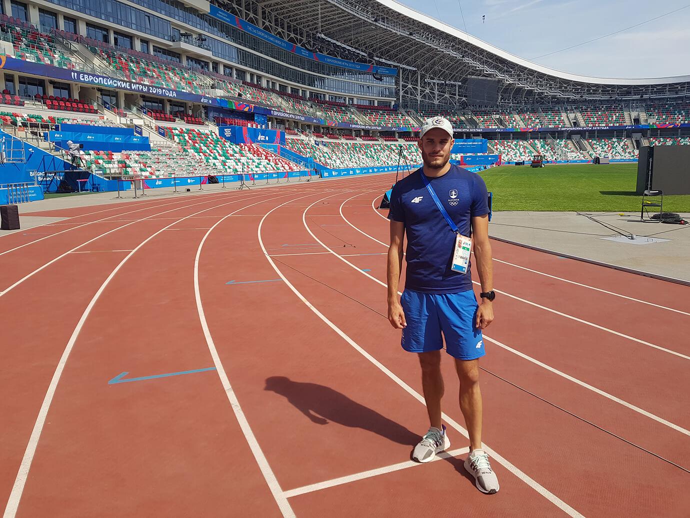 Atletul cu experiență și antrenorul personal, Jakub Bottlík